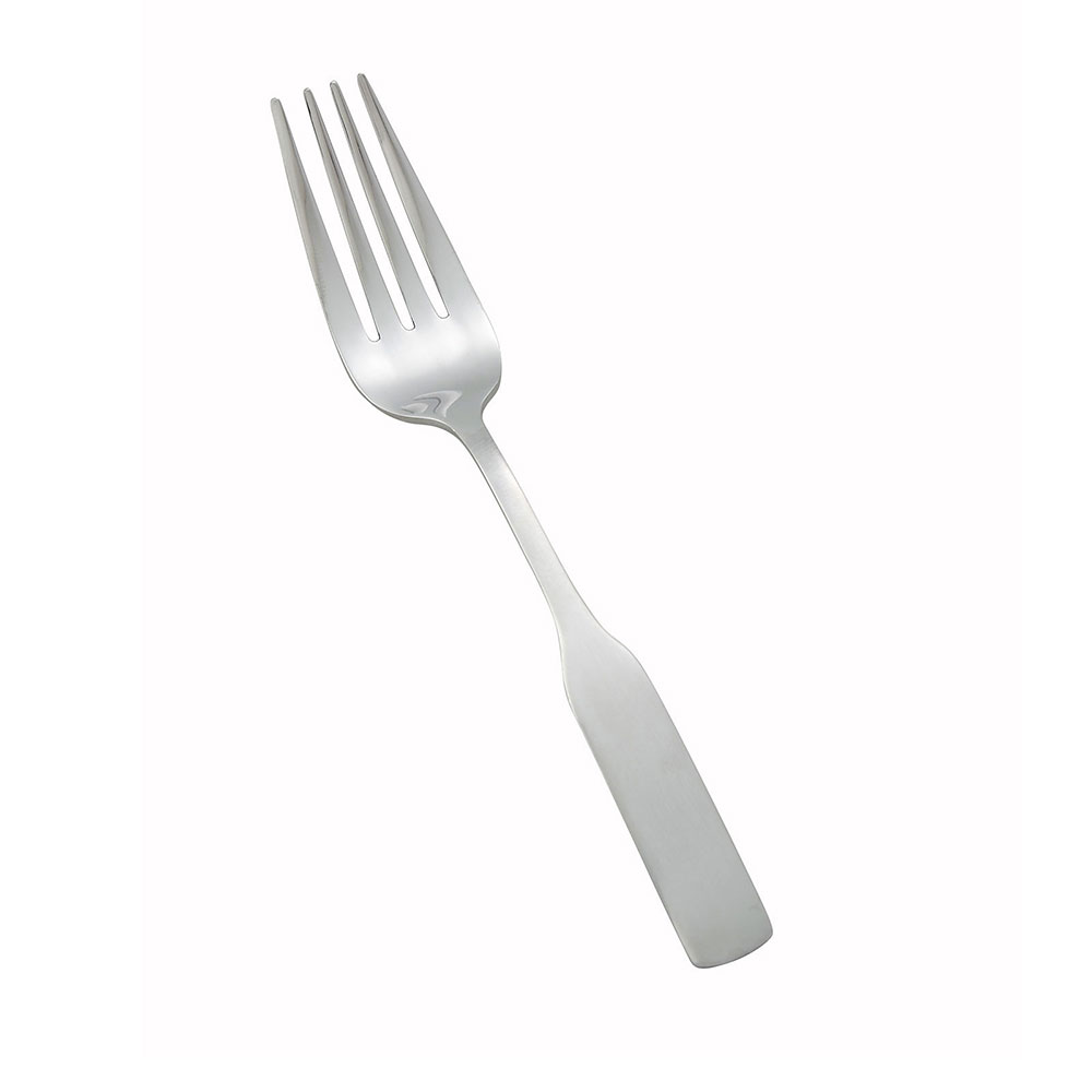 Winco 0016-06 Salad Fork, 18/0 Stainless Steel, Heavy Weight, Satin Finish, Winston Pattern