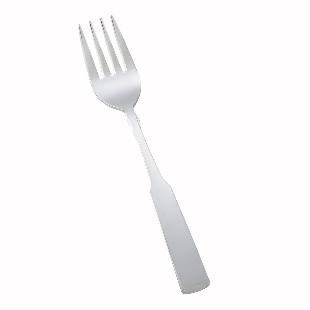 Winco 0025-06 Salad Fork, Satin Finish, 18/0 Stainless Steel, Heavy Weight, Houston Design