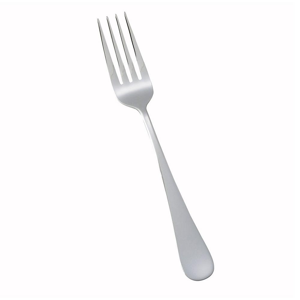Winco 0026-05 Dinner Fork, 18/0 Stainless Steel, Heavy Weight, Mirror Finish, Elite Pattern