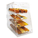 "Winco ADC-4 Counter Top Display Case w/ (4) 12 x 18"" Trays, 14 x 24 x 24"", Clear"