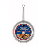 Winco AFP-8S Fry Pan, 8 in Diameter, Aluminum, Satin Finish