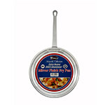"Winco AFP-14 14"" Aluminum Frying Pan w/ Solid Metal Handle"
