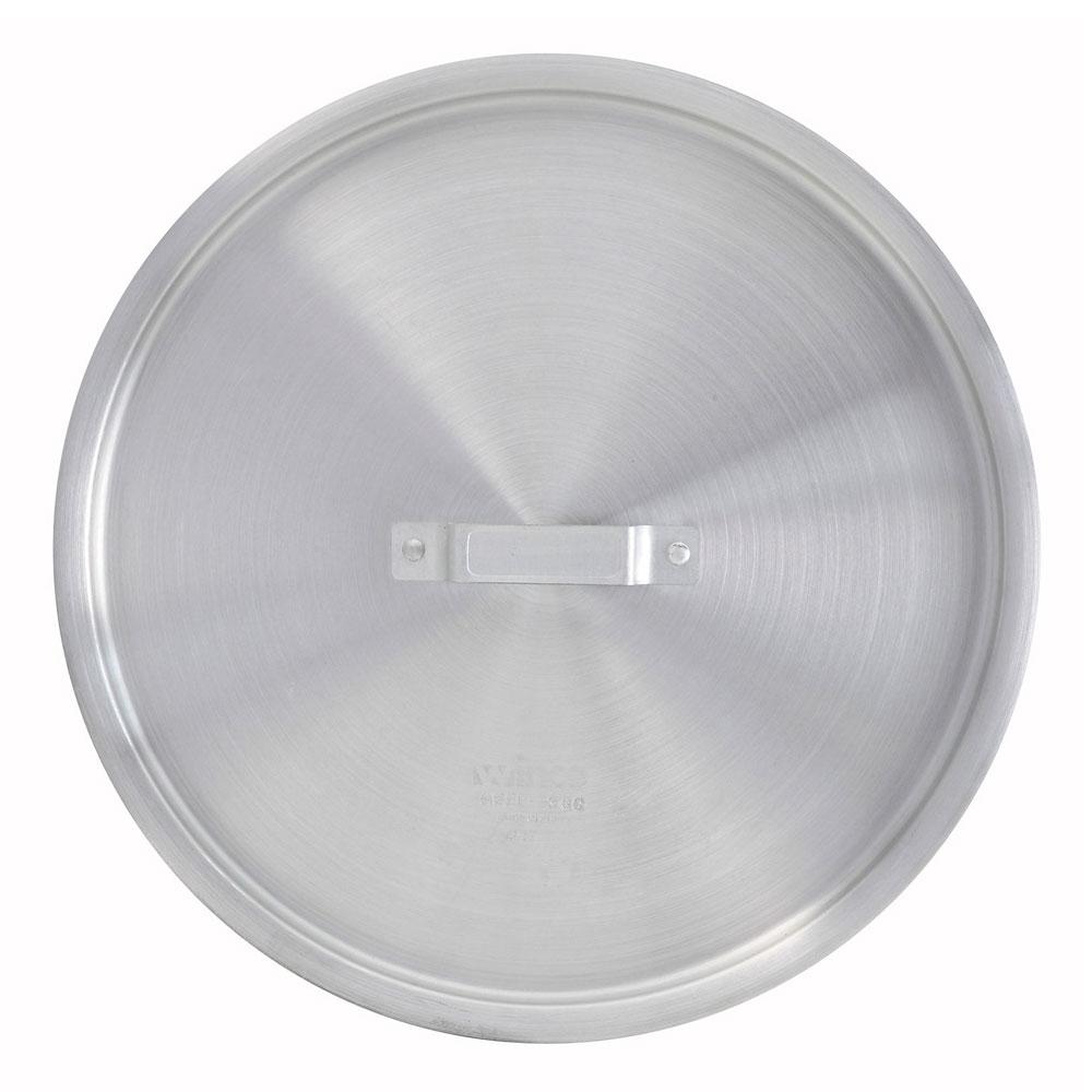 Winco ALPC-100 Stock Pot Cover for 100-qt Pots & 28-qt Braziers, Aluminum
