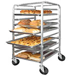 Winco ALRK-10 38 in Heavy Duty Bun Rack, 10 Full Size Pan Capacity, Aluminum