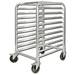 Winco ALRK-10BK Heavy Duty Bun Rack w/ Brakes, 10 Full Size Pan Capacity