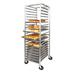 "Winco ALRK-20 69"" Sheet Pan Rack w/ 20-Pan Capacity, Aluminum"