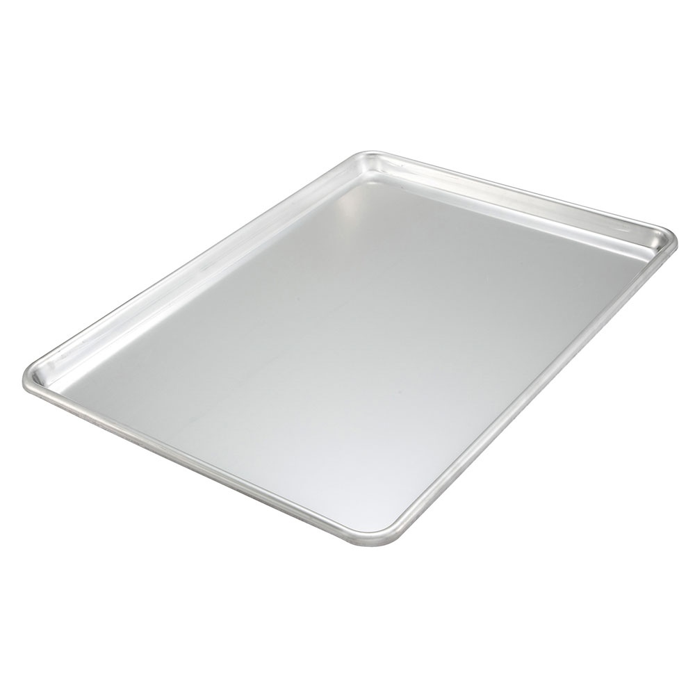 "Winco ALXP-1200 Aluminum Sheet Pan, 18 x 26"", 12-gauge, NSF"