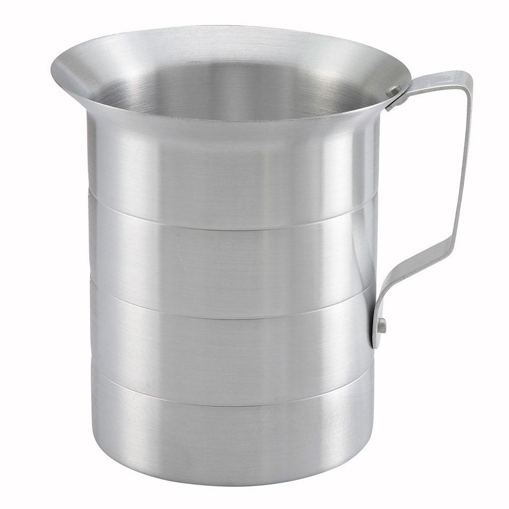 Winco AM-4 4-qt Measuring Cup, Aluminum