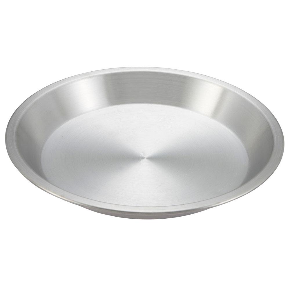 """Winco APPL-10 10"""" Round Pie Pan, Aluminum"""