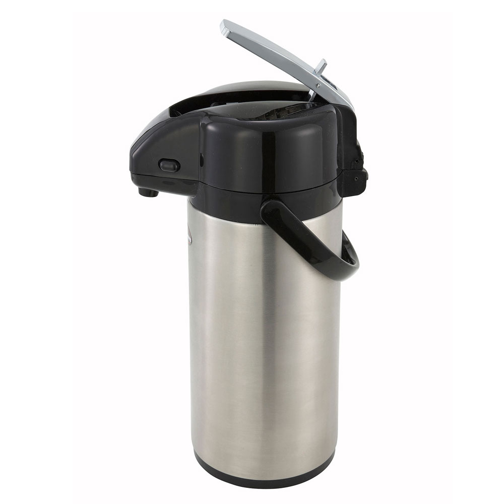 Winco APSK-725 2.5-L Vacuum Server w/ Stainless Body & Liner, Lever-Top