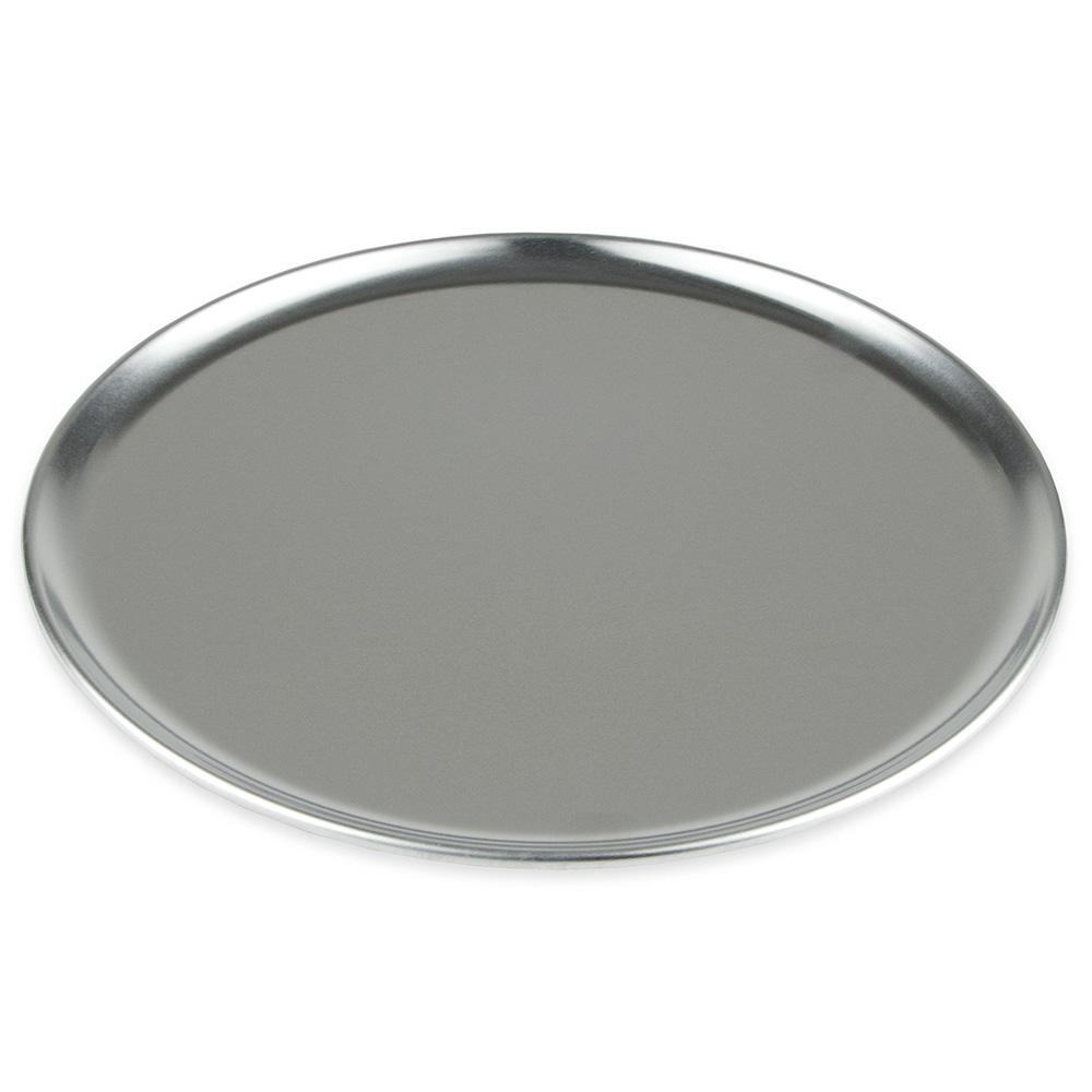 "Winco APZC-11 11"" Round Coupe Pizza Pan, Aluminum"