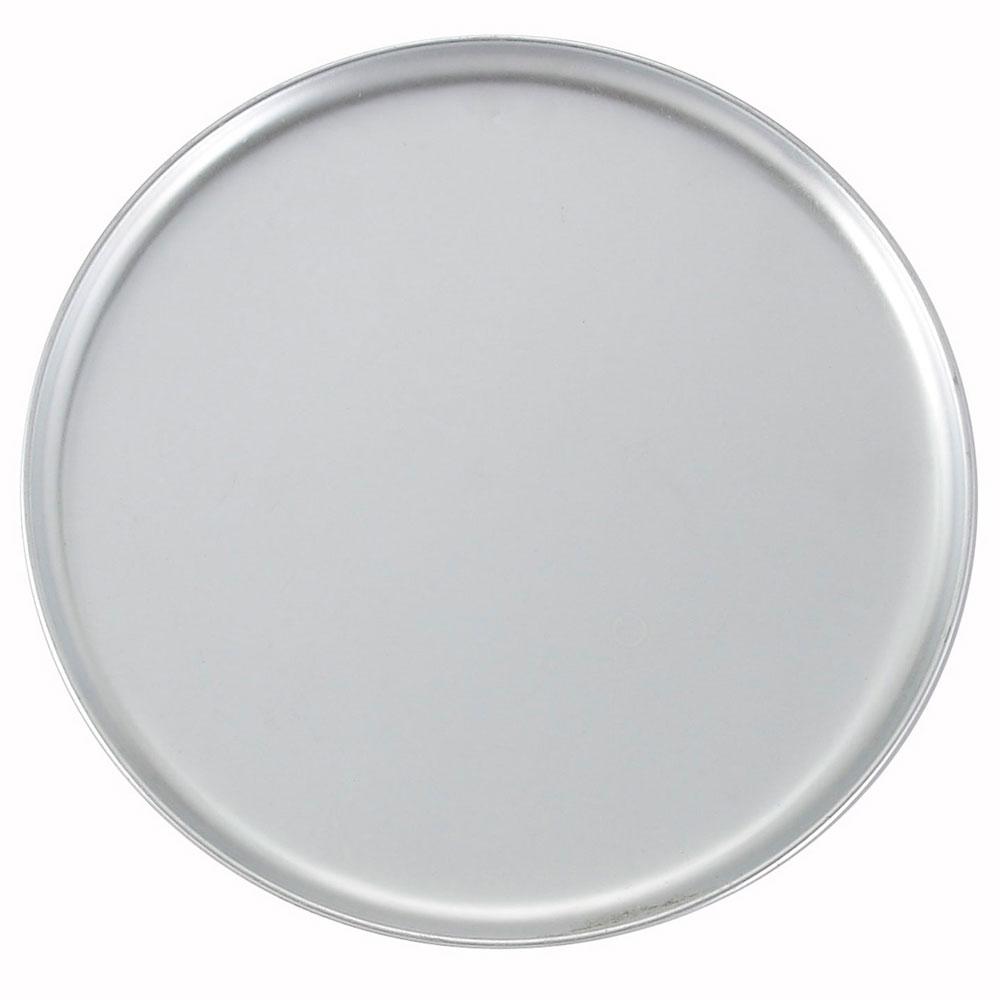 "Winco APZC-15 15"" Round Coupe Pizza Pan, Aluminum"