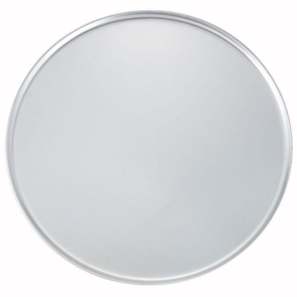 "Winco APZC-16 16"" Round Coupe Pizza Pan, Aluminum"