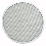 "Winco APZS-13 13"" Seamless Pizza Screen, Aluminum"