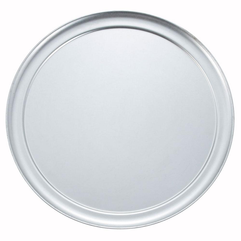"""Winco APZT-15 15"""" Round Wide Rim Pizza Pan, Aluminum"""