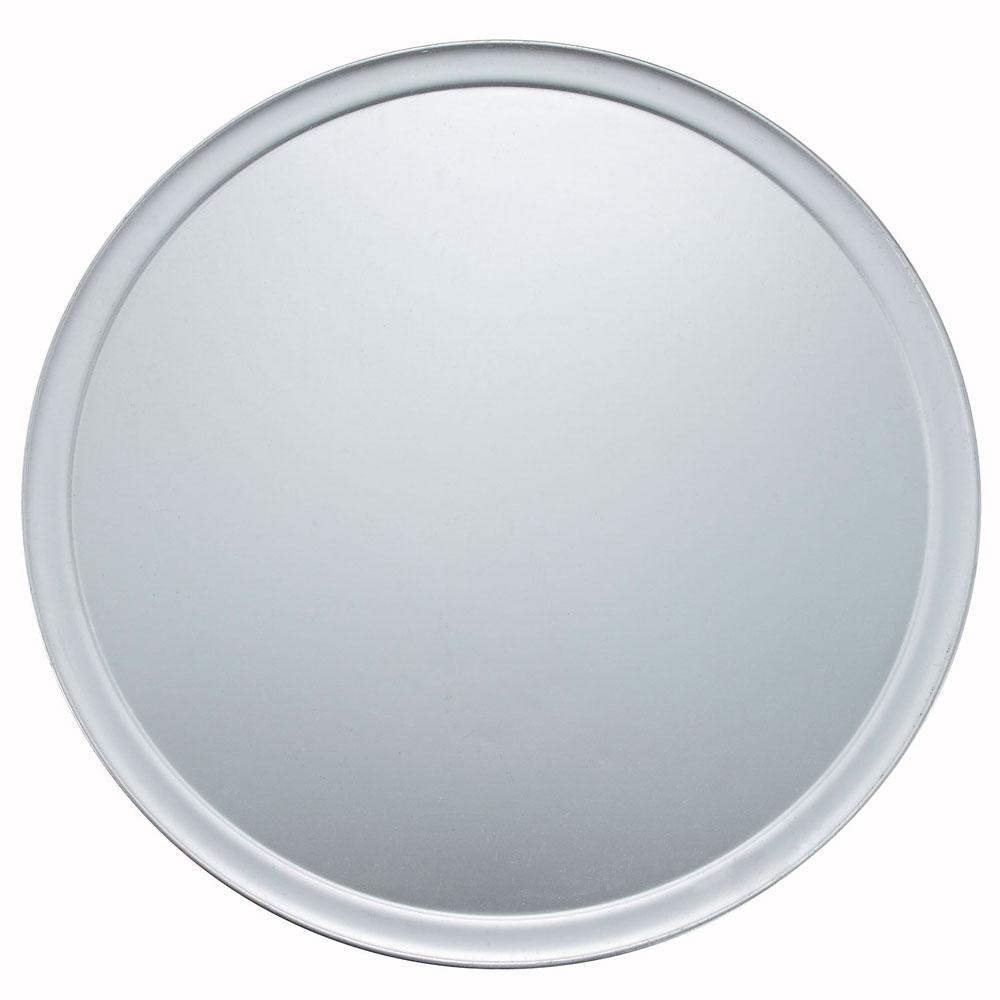 """Winco APZT-20 20"""" Round Wide Rim Pizza Pan, Aluminum"""
