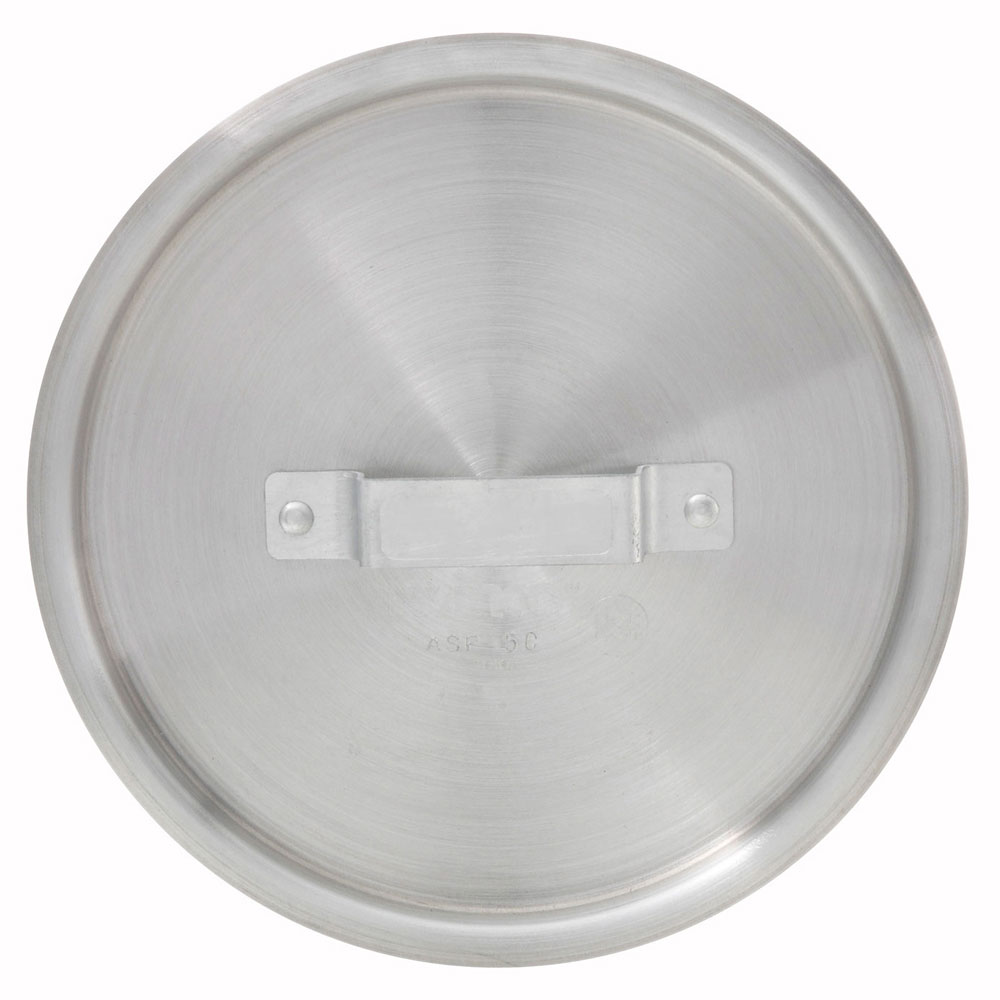 Winco ASP-2C 2.5-qt Saucepan Cover w/ Handle - Aluminum