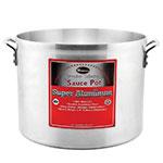 """Winco AXHA-40 40-qt Aluminum Sauce Pot - 16"""" x 11.75"""""""