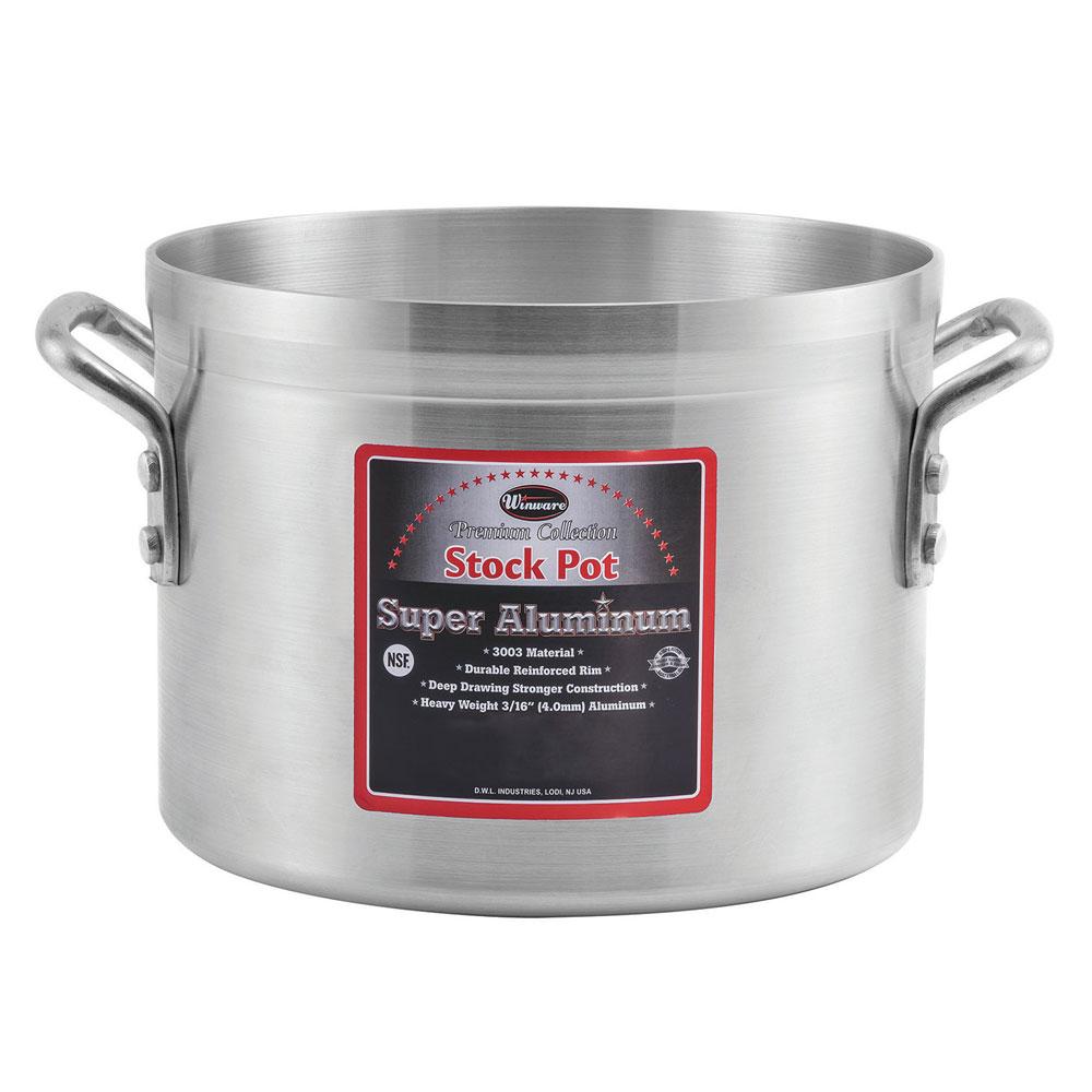 Winco AXS-16 16-qt Aluminum Stock Pot
