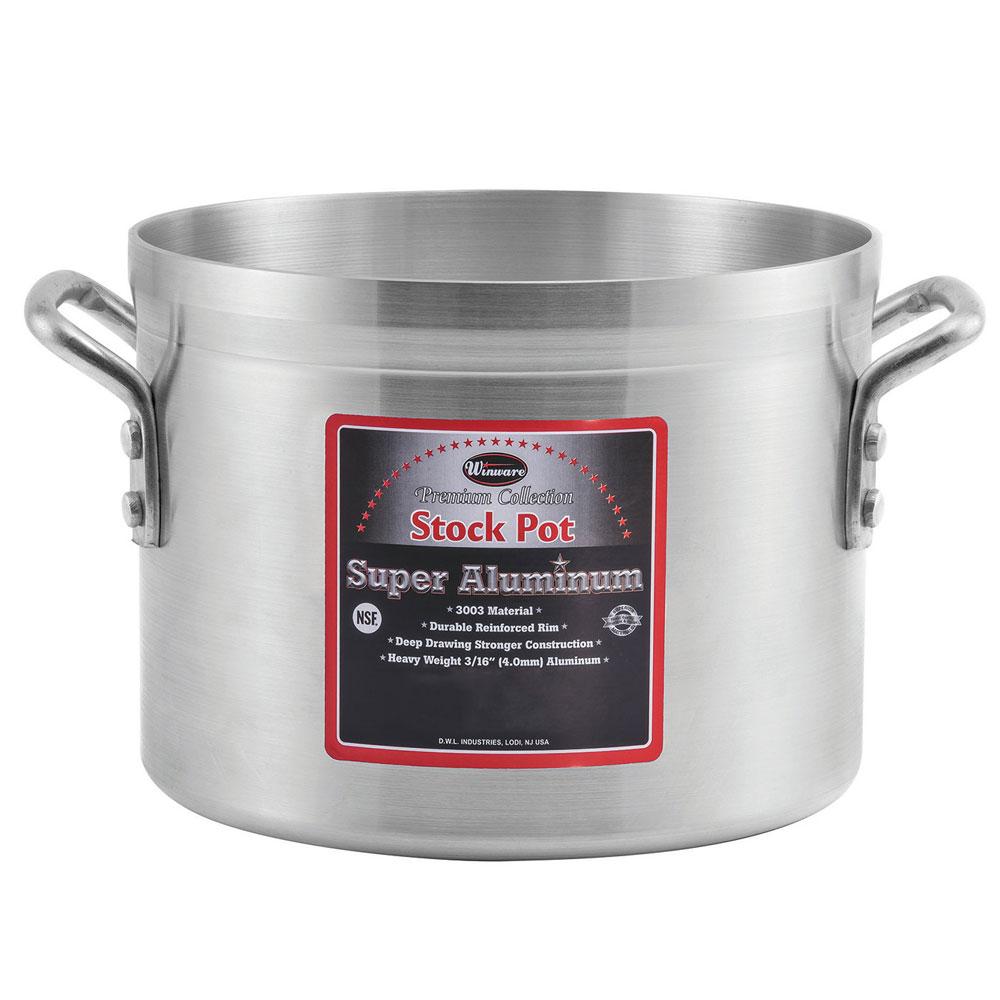 Winco AXS-24 24-qt Aluminum Stock Pot