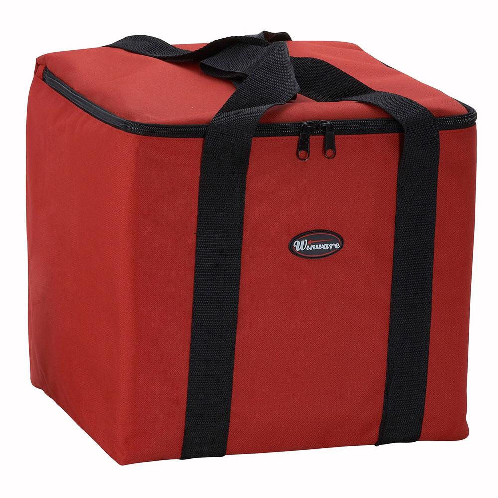 """Winco BGDV-12 Pizza Delivery Bag, 12 x 12 x 12"""""""