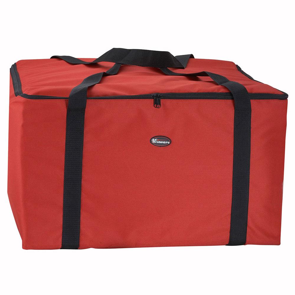 """Winco BGDV-22 Pizza Delivery Bag, 22 x 22 x 13"""""""
