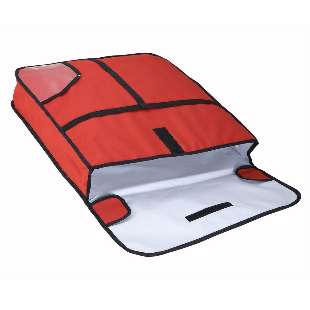 """Winco BGPZ-24 Pizza Delivery Bag, 24 x 24 x 5"""""""