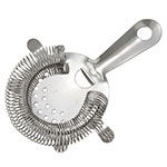 Winco BST-4P 4-Prong Bar Strainer, Stainless
