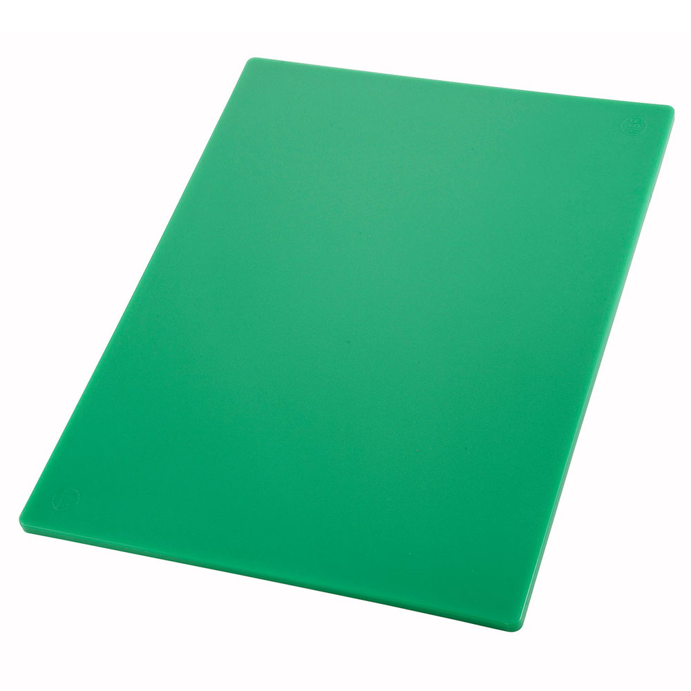 "Winco CBGR-1824 Cutting Board, 18 x 24 x .5"", Green"