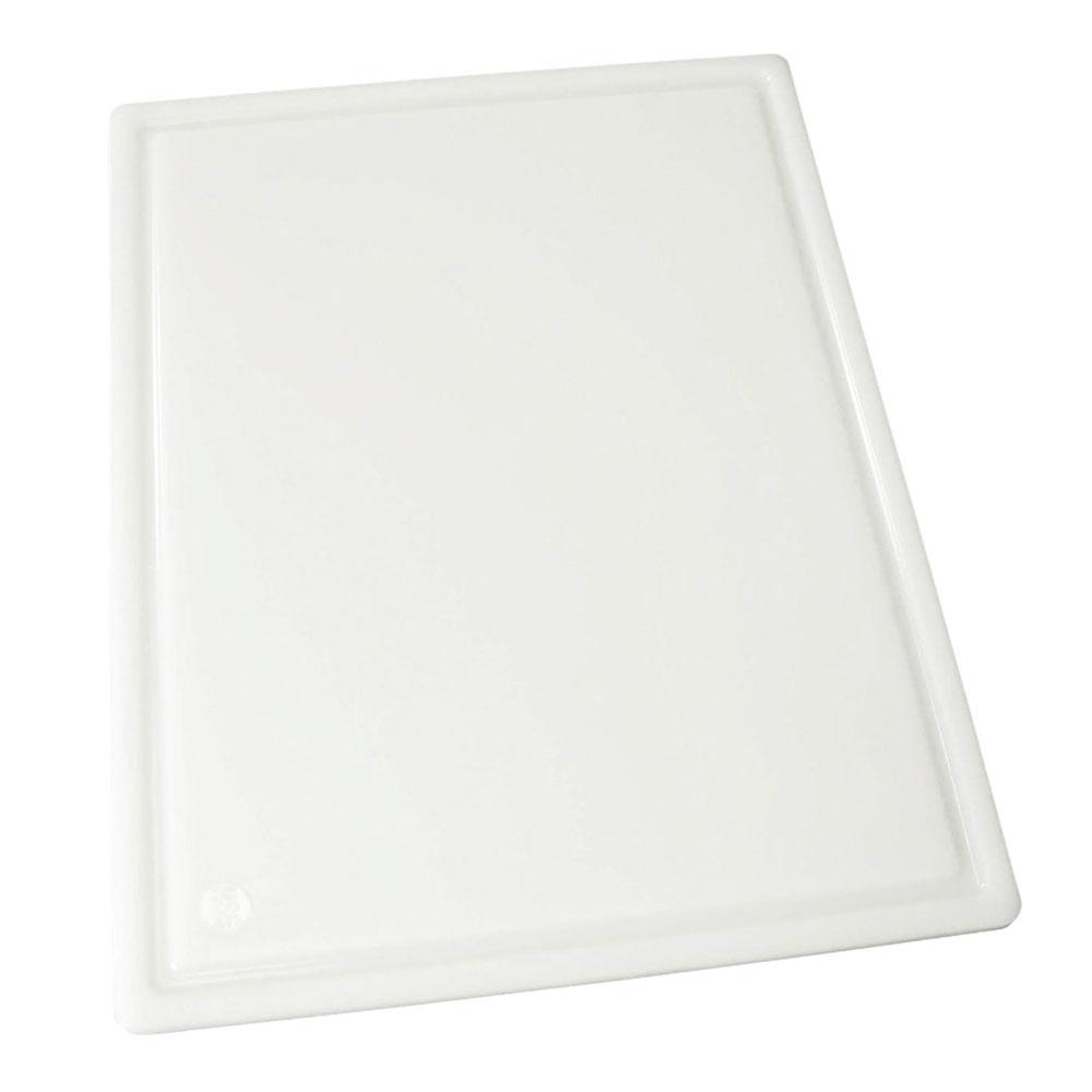 "Winco CBI-1218 Grooved Cutting Board, 12 x 18 x .5"", White"