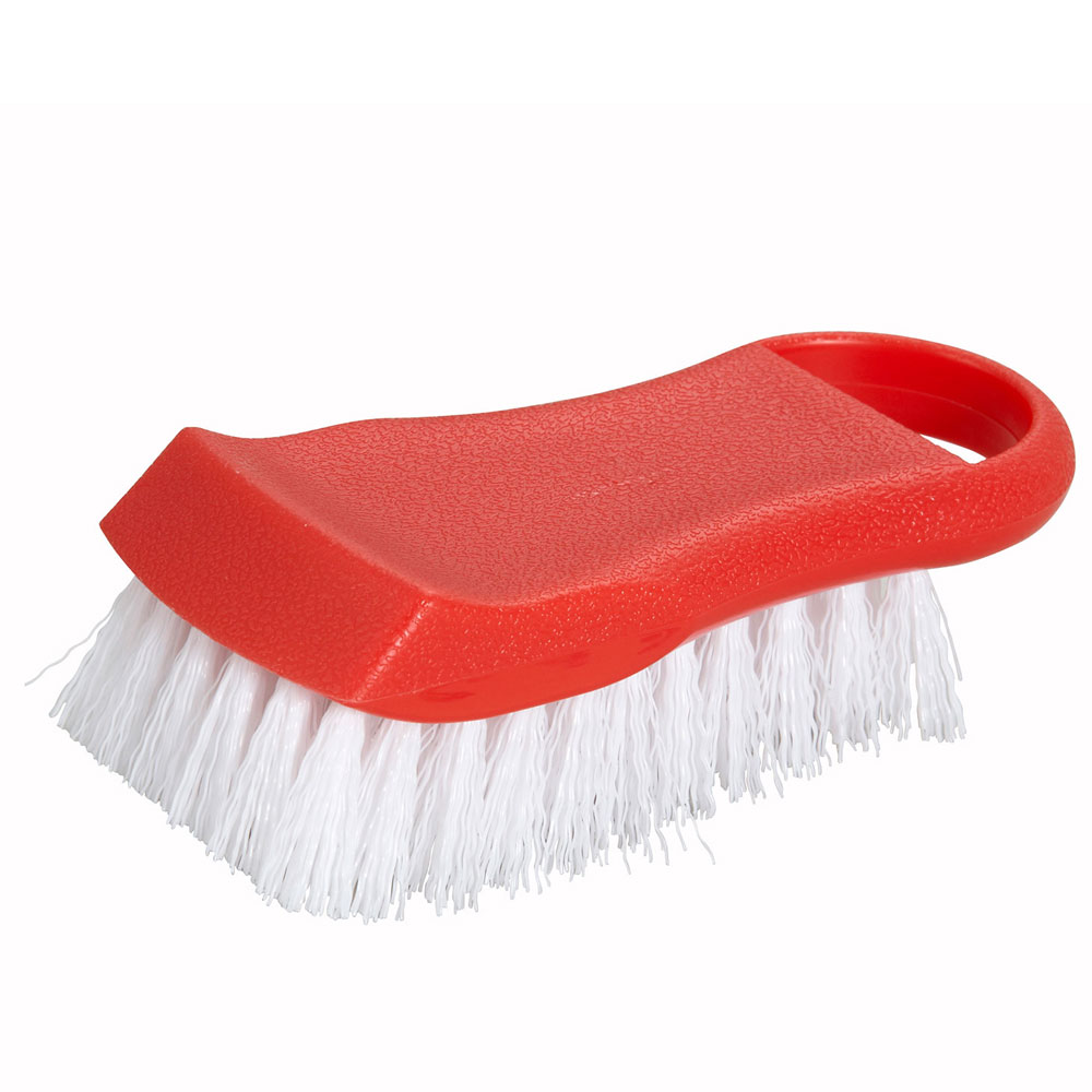 Winco CBR-RD Cutting Board Brush, Red