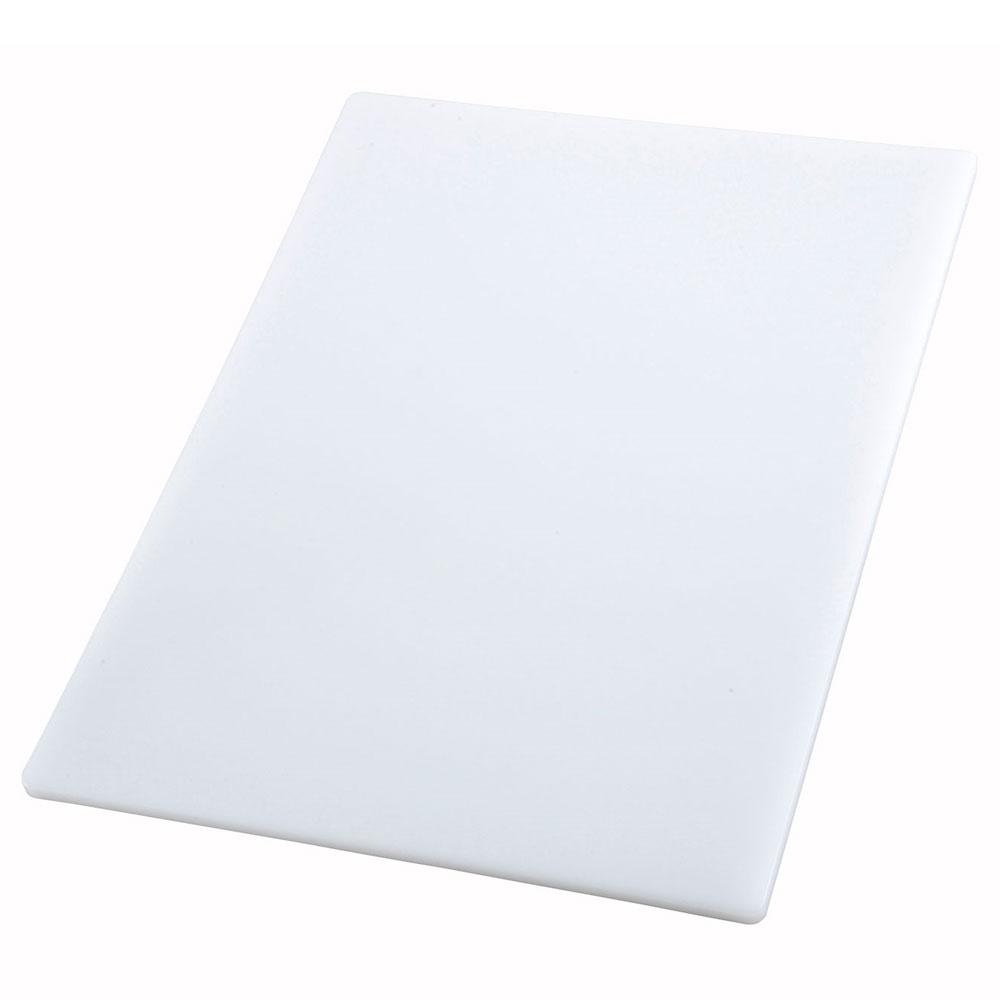 "Winco CBWT-610 Cutting Board, 6 x 10 x .5"", White"