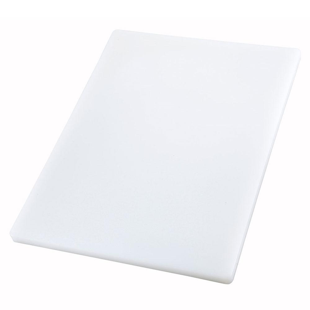 """Winco CBXH-1520 Cutting Board, 15 x 20 x 1"""", White"""