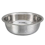 "Winco CCOD-11S 11"" Chinese Colander w/ 2.5mm Holes, Stainless"