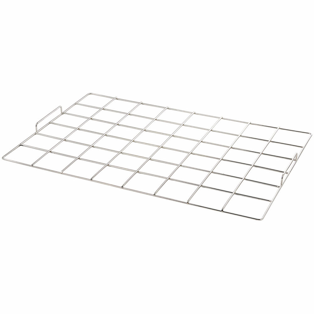 """Winco CKM-68 48-Square Cake Marker - 6"""" x 8"""", Stainless"""