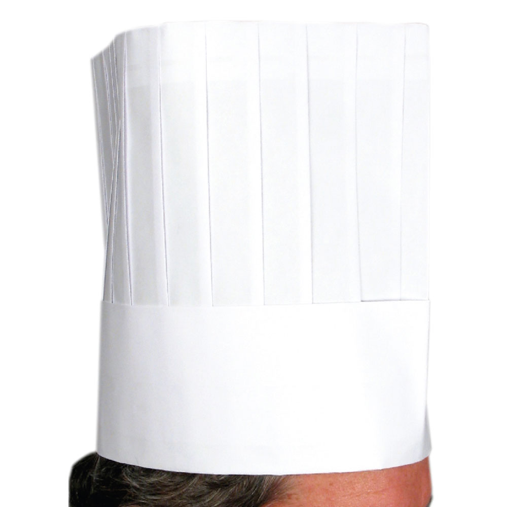 "Winco DCH-9 9"" Disposable Chef Hat"