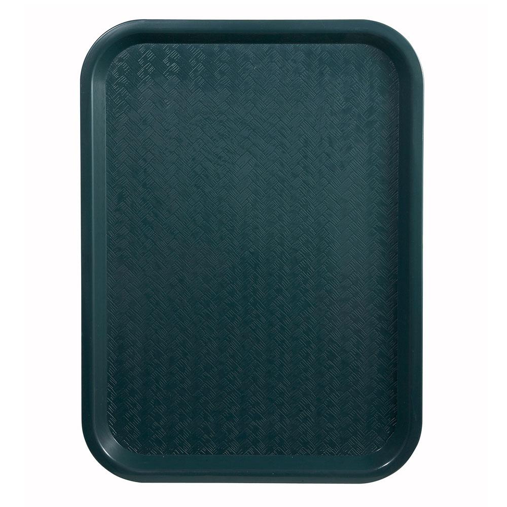 """Winco FFT-1014G Fast Food Tray, 10 x 14"""", Green"""