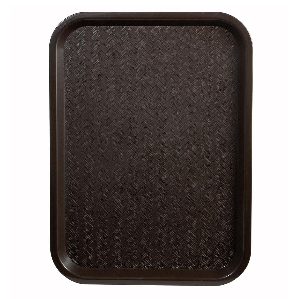 "Winco FFT-1216B Fast Food Tray, 12 x 16"", Brown"