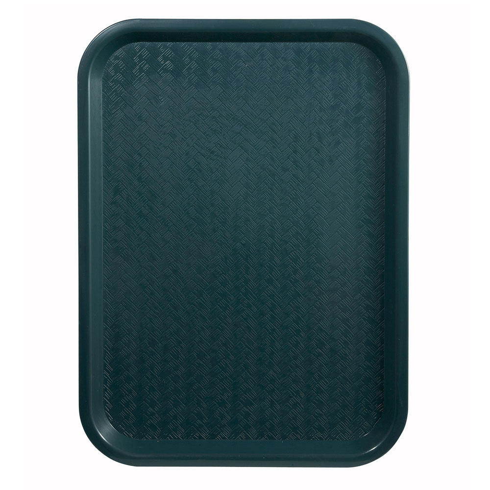 "Winco FFT-1216G Fast Food Tray, 12 x 16"", Green"
