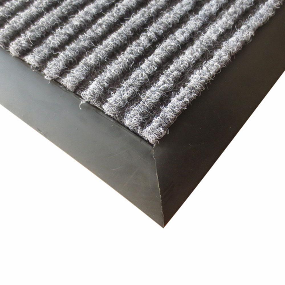 Winco FMC-46C Carpet Floor Mat - 4x6-ft, Charcoal