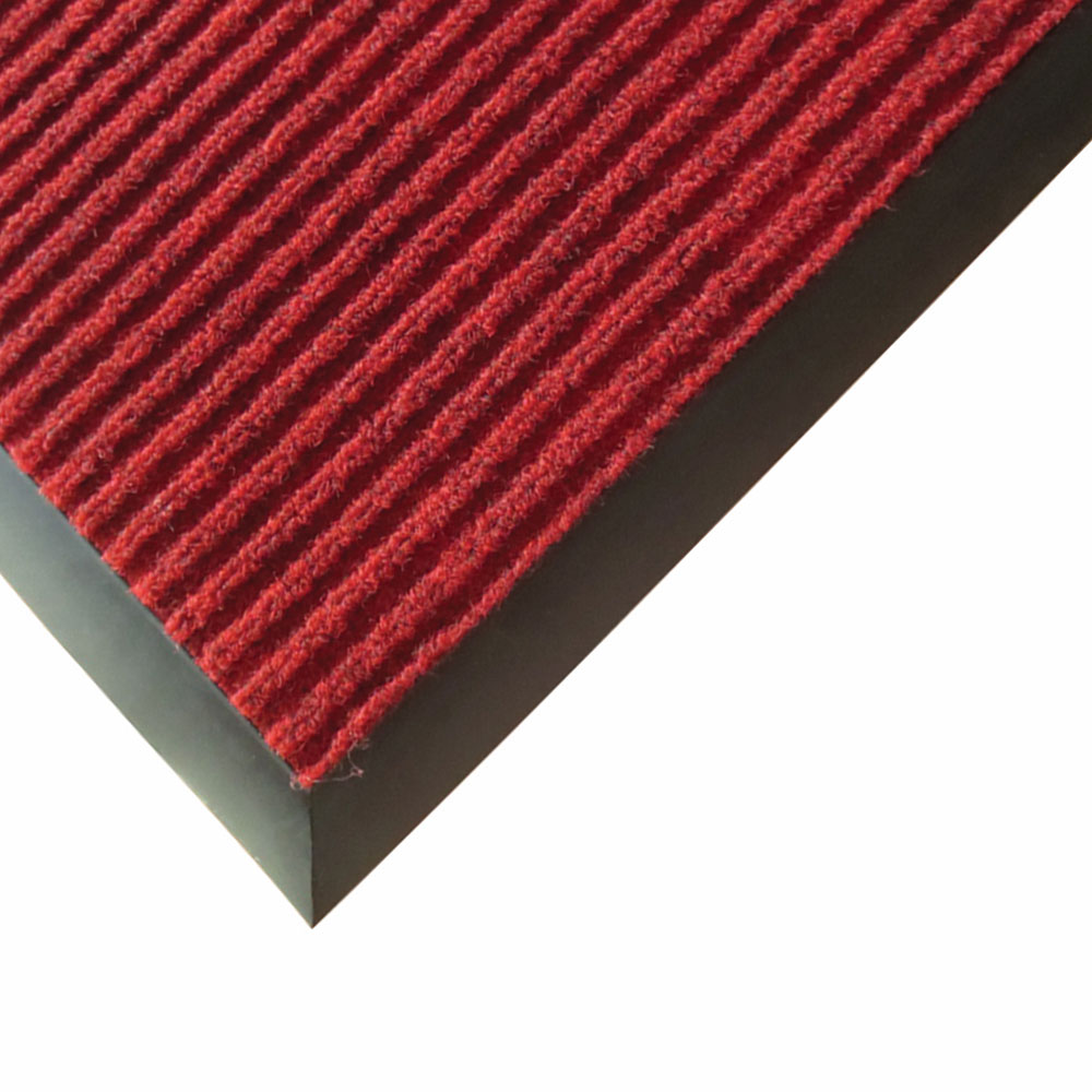 Winco FMC-46U Carpet Floor Mat - 4x6-ft, Burgundy