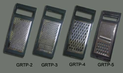 Winco GRTP3 Manual Garnishing Grater, 10-6/7 x 4-1/3 x 9/10-in, Stainless