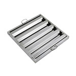 "Winco HFS2020 Hood Baffle Filter - 20"" x 20"", Stainless"