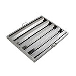 "Winco HFS2025 Hood Baffle Filter - 20"" x 25"", Stainless"