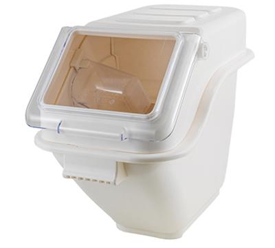 Winco IB-5S 5-gal Ingredient Bin -  80 Cup Capacity w/ Lid