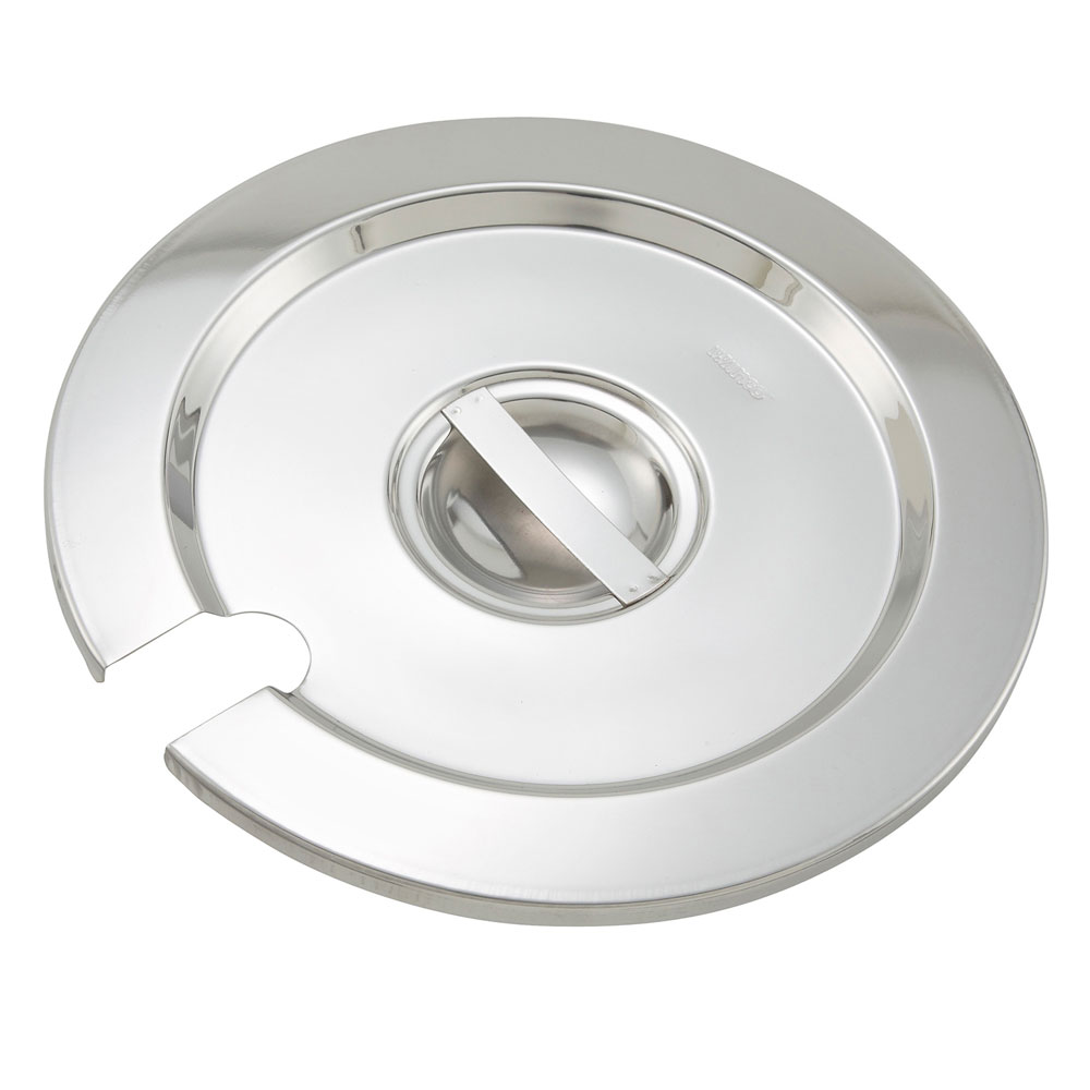 Winco INSC-11M Inset Cover for 11-qt, Heavy Weight Stainless