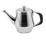 Winco JB2920 20-oz Gooseneck Teapot w/ Lid - Stainless