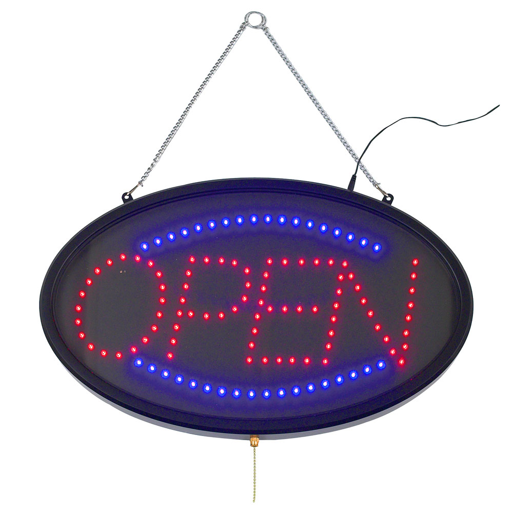 Winco LED-10 LED Sign, OPEN, Dust Proof Cover