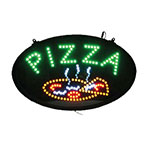 Winco LED-11 LED Sign, PIZZA, Dust Proof Cover