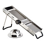 Winco MDL-18 Mandoline Slicer w/ Adjustable Dial, Stainless